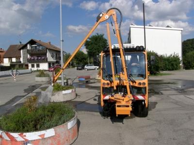 BERTSCHE Gießarm GA2012 an Boki-Fahrzeug