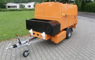 BERTSCHE Leichtmüllverdichter-Anhänger Typ LMH 2,0