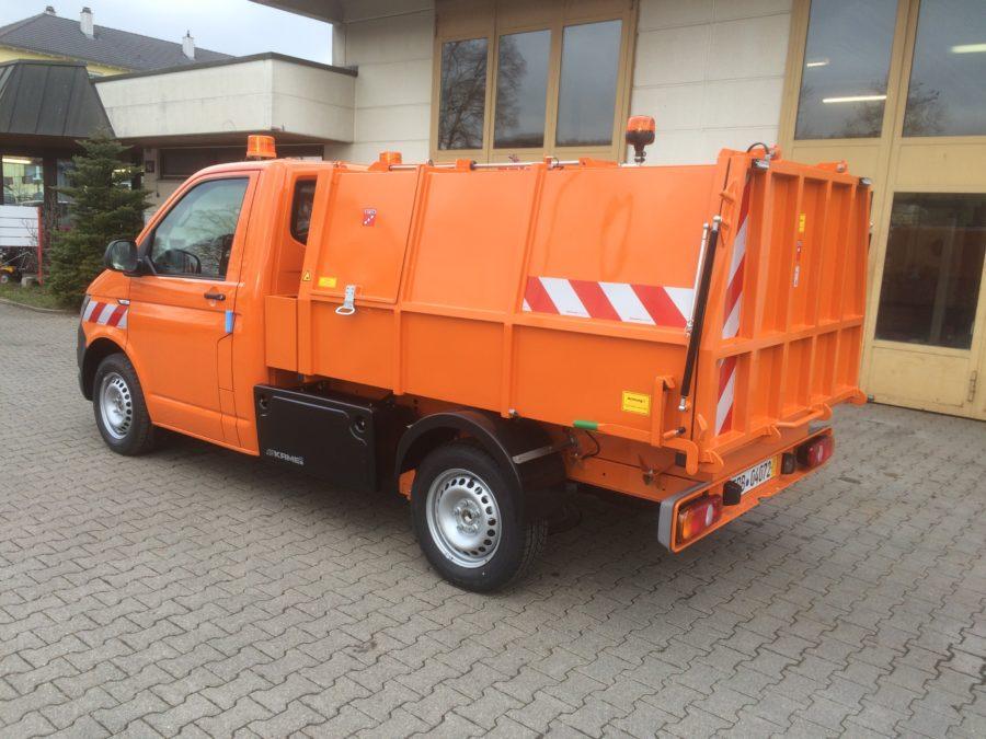BERTSCHE Leichtmüllverdichter Typ LM 3,5 auf Volkswagen Transporter