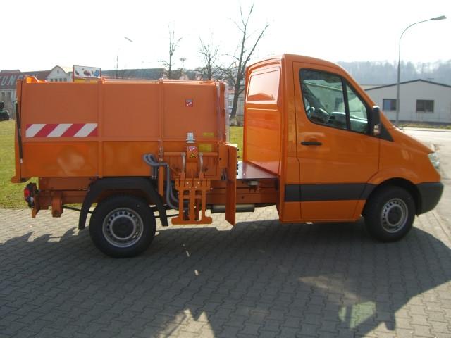 BERTSCHE Leichtmüllverdichter Typ LM 3,5S DB Sprinter
