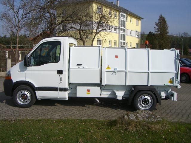 BERTSCHE Leichtmüllverdichter Typ LM 3,5 Renault Master