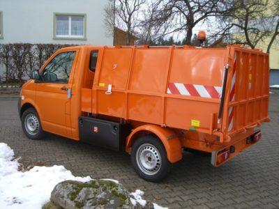 BERTSCHE Leichtmüllverdichter Festaufbau Typ LM 3,5 auf VW T6