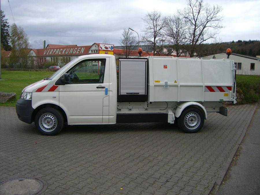 BERTSCHE Leichtmüllverdichter Typ LM3,5 auf Volkswagen Transporter