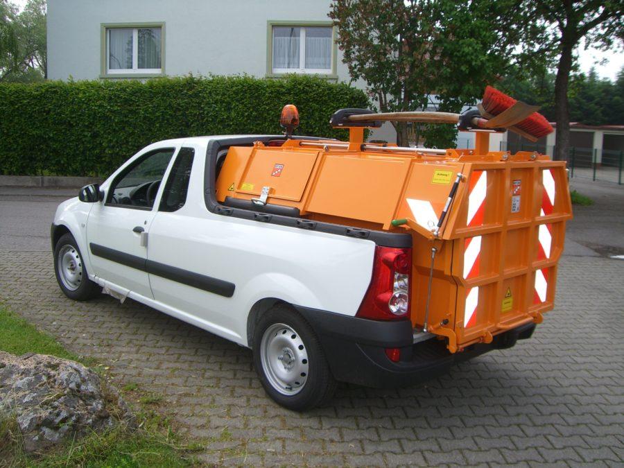 BERTSCHE Leichtmüllverdichter für Pick-Up Fahrzeuge