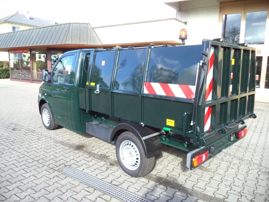 BERTSCHE Leichtmüllverdichter Typ LM3,5 auf VW T5-Fahrgestell