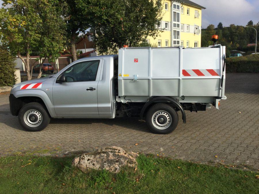 BERTSCHE Leichtmüllverdichter Typ LM3,5 VW Amarok-Fahrgestell
