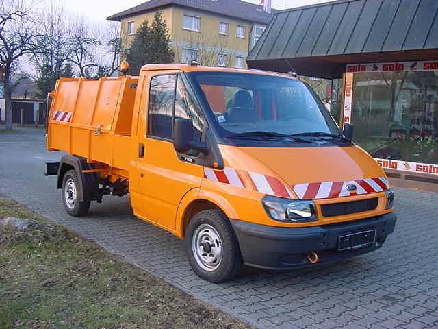 BERTSCHE Leichtmüllverdichter Typ LM 3,5 Ford Transit Fahrgestell