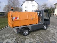 BERTSCHE Leichtmüllverdichter LME2,0 Wechselaufbau auf Esagono E-Fahrzeug