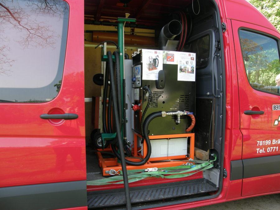 BERTSCHE Keckex Komex 12V Komplettsystem im Transporter
