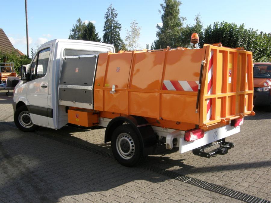 BERTSCHE Leichtmüllverdichter Typ LM 3,5 auf DB Sprinter-Fahrgestell