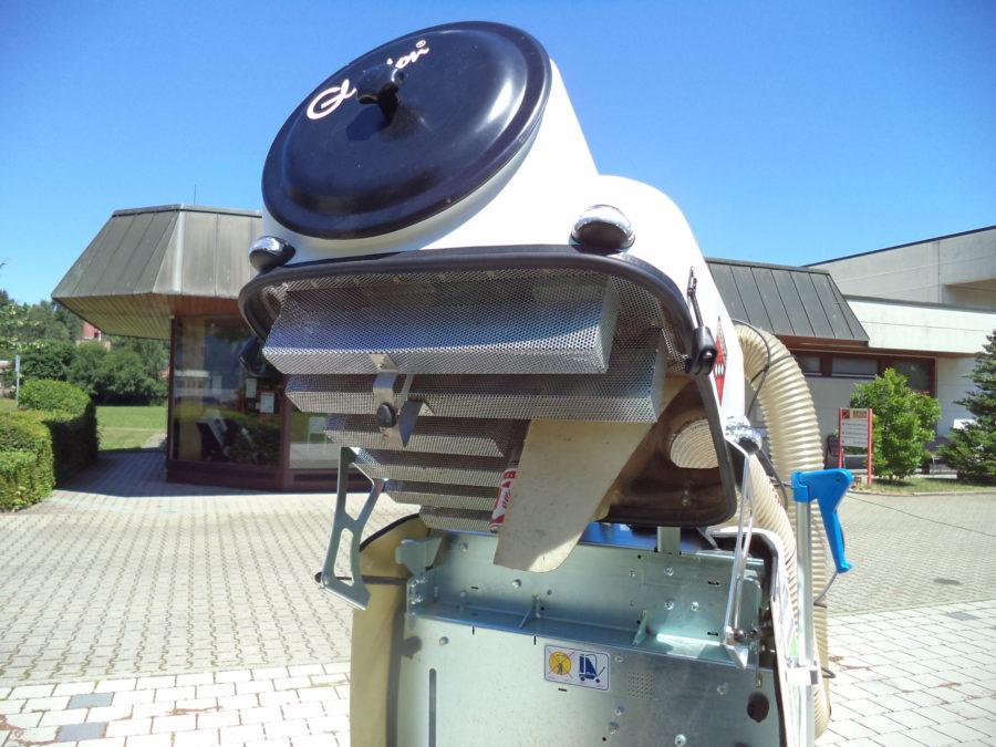 Das Speziel-Filtergitter des GLUTTON® sorgt für konstante Saugleistung und schütze die Turbine vor Fremdkörpern