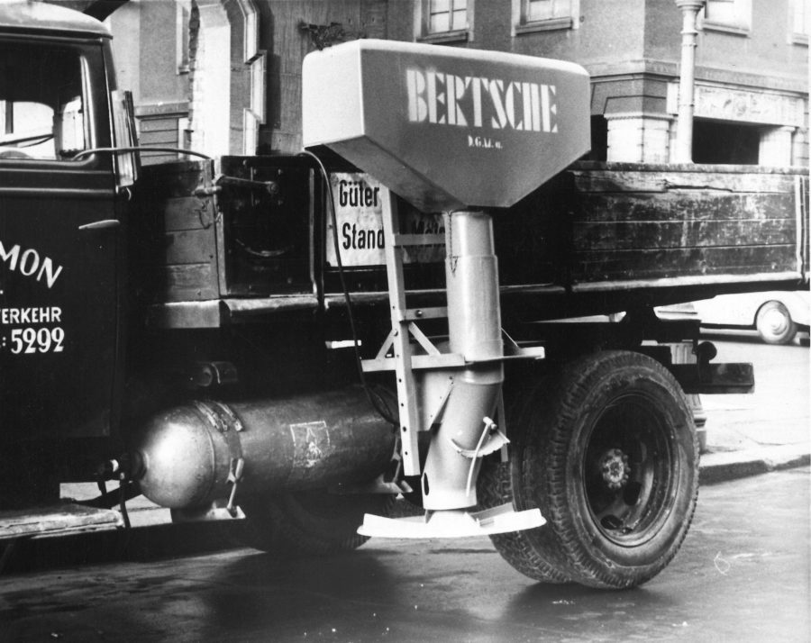1954 Bertsche Elektr. Streugerät LKW