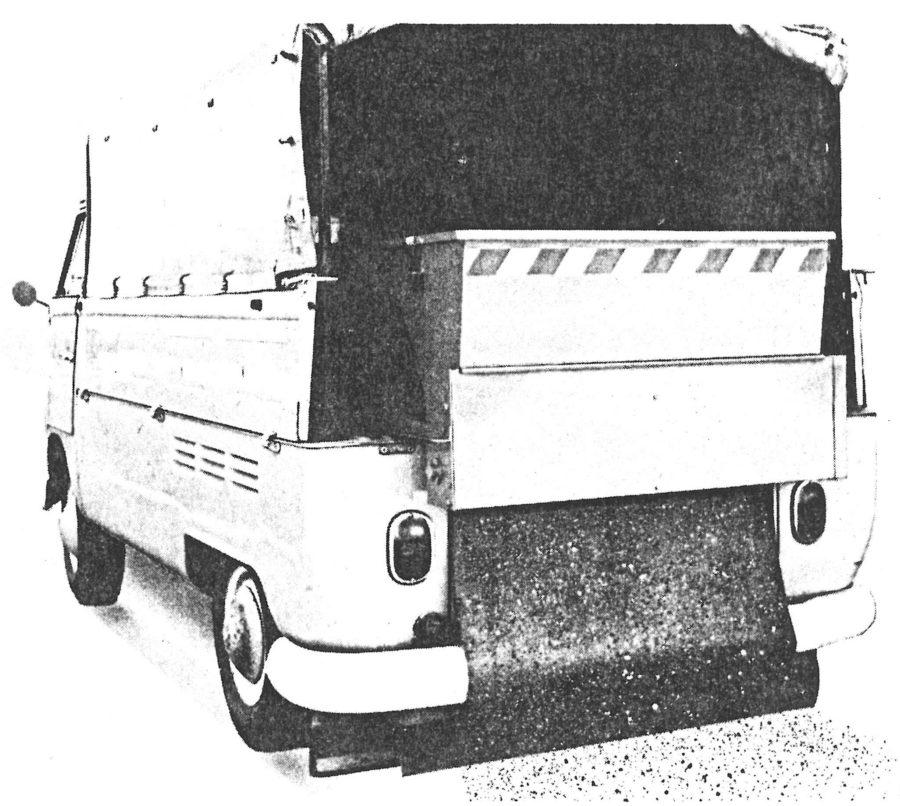 1966 Bertsche Breitstreuer elektrisch 1 m