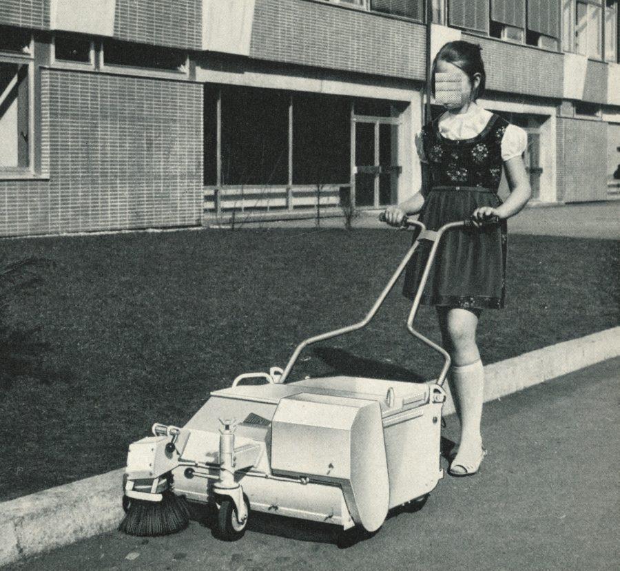 1967 Bertsche Elba Kehrmaschine elektrisch