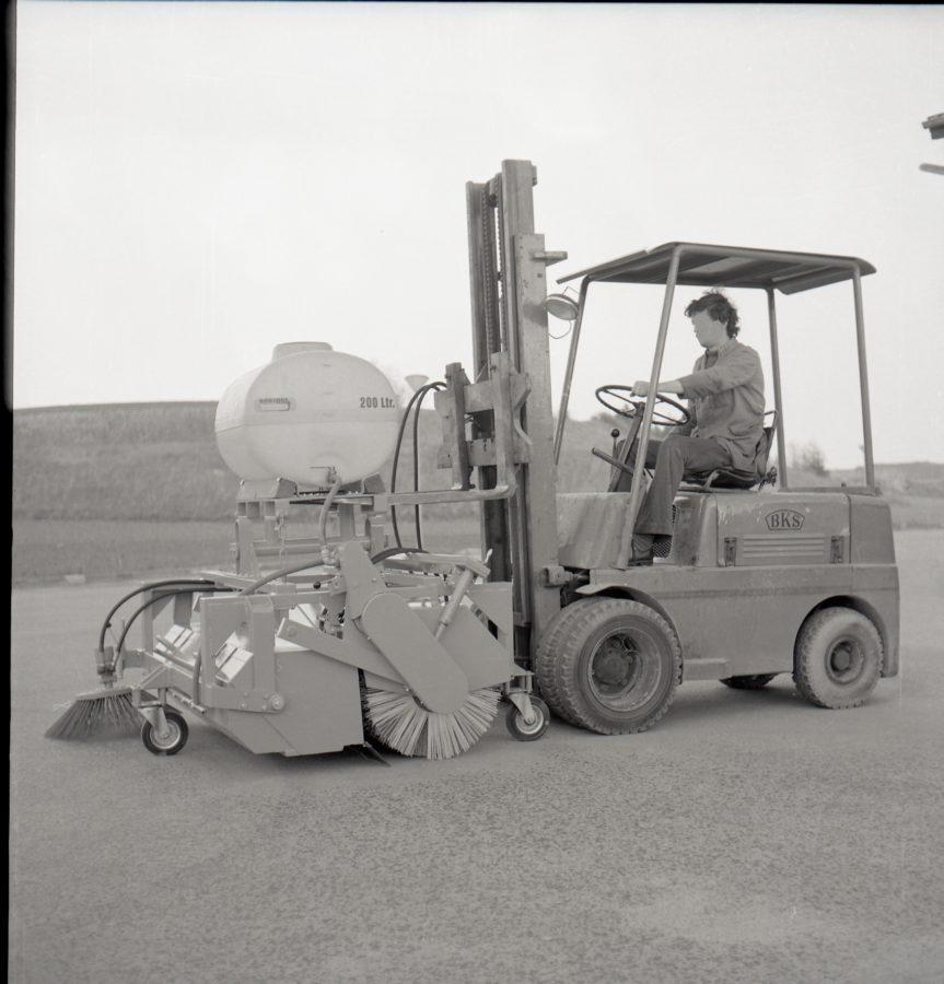 1978 Bertsche Kehrmaschine SKG