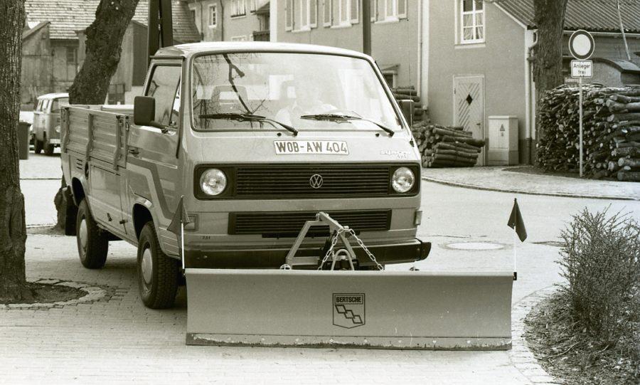 1984 - BERTSCHE Universal-Leichtschneepflug UL22