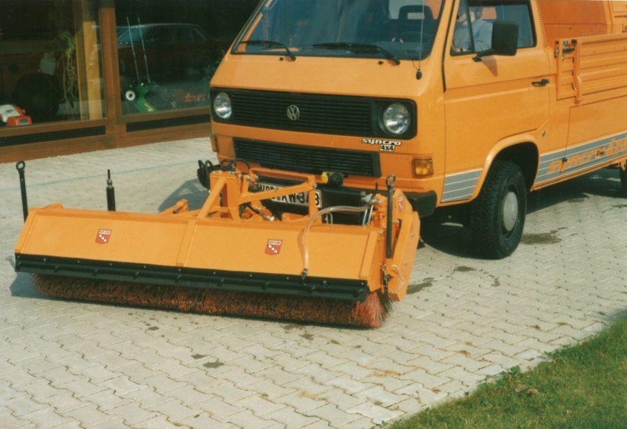1986 Bertsche FK an Volkswagen Syncro Transporter