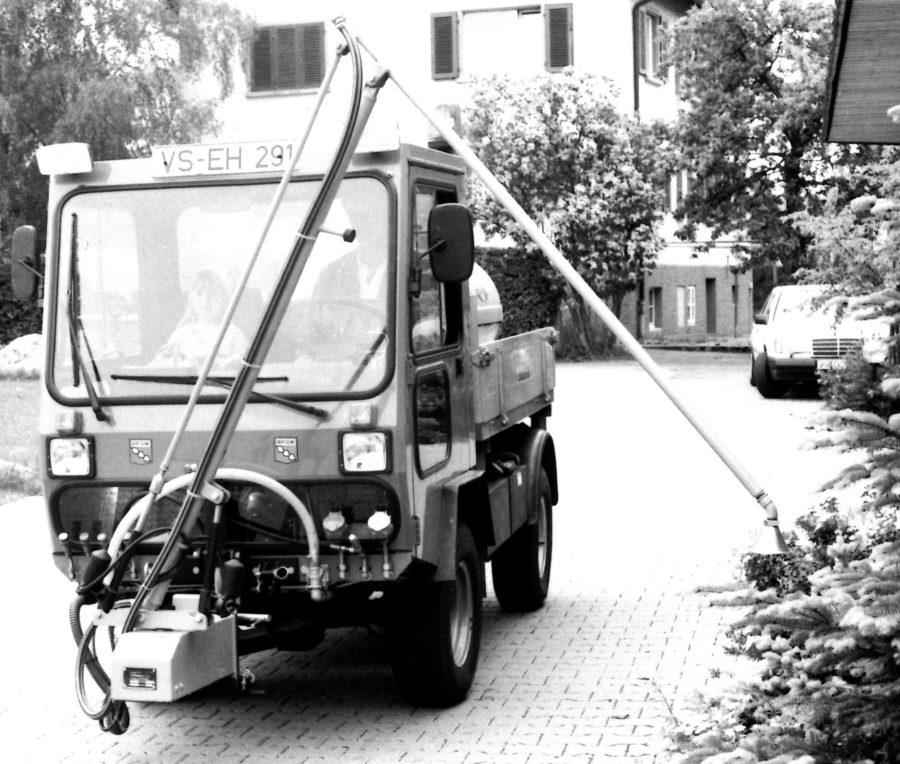 1992 - BERTSCHE Gießanlage GVE elektrisch - zweite Generation