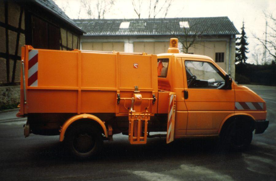 1997 Bertsche Leichtmüllverdichter LM3,5S mit Schüttung
