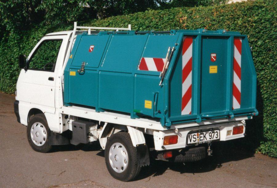 2001 Bertsche LeichtmüllverdichterLMP2,0 auf Piaggio-Fahrgestell