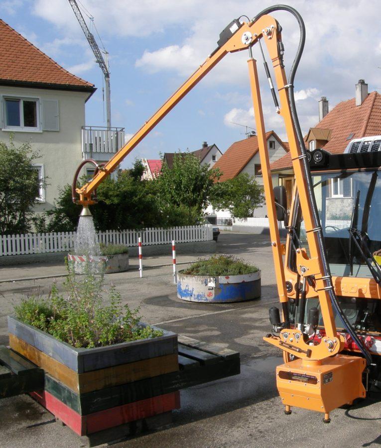 2010 - BERTSCHE Gießarm GA2010 - neue elektrische Generation