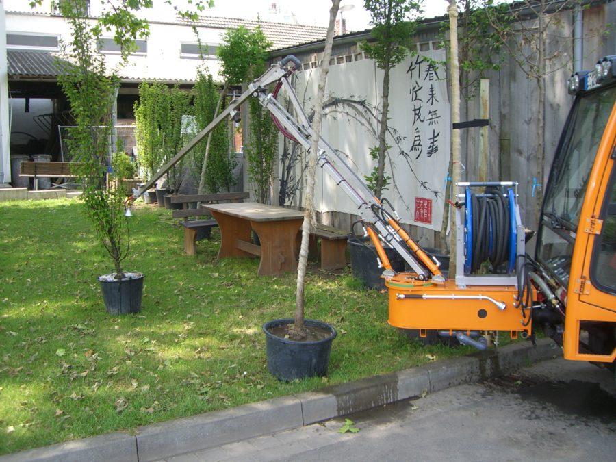 2008 - Erster hydraulischer BERTSCHE Gießarm GVH2008 -