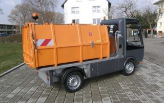 2018 Bertsche Leichtmüllverdichter auf Esageno-Elektrofahrzeug