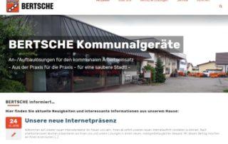 Neue Internetpräsenz der Firma Albrecht Bertsche