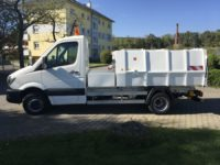 BERTSCHE LM 4,5 als Festaufbau auf DB Sprinter Fahrgestell