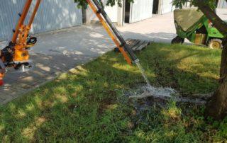 Gießarm 2012 zur Baumbewässerung