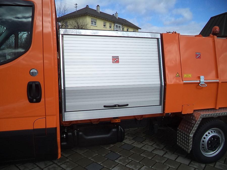 LM3,5 Leichtmüllverdichter Premiumbehälter Alu