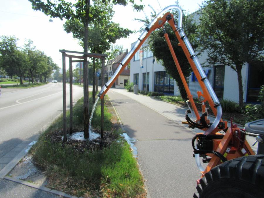 Mobile Baumbewässerung mit Gießarm GA2012XL;