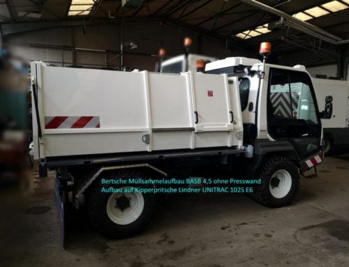 Ihr Winterdienstfahrzeug wird zum Abfallsammelfahrzeug für Papierkorbabfall