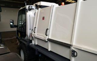 Abfallsammelbehälter Pritschenaufbau BASB 4,5 m³