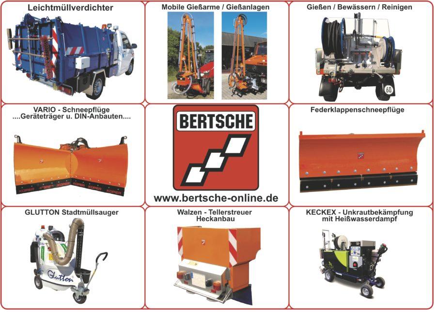 Bertsche Kommunalgeräte; Anbaugeräte;
