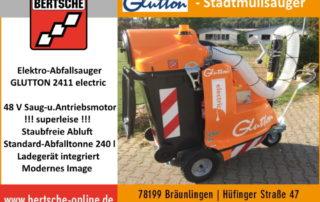 GLUTTON Abfallsauger
