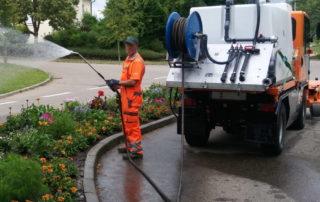 ReiGieFlex aufbau zum Gießen, Bewässern, Reinigen