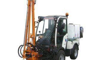 Gießarm für rationelle Bewässerungsarbeiten