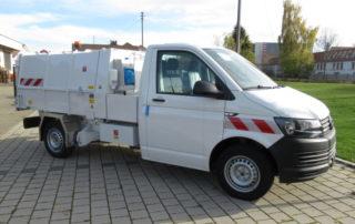 Volkswagen Transporter mit Bertsche Leichtmüllverdichter