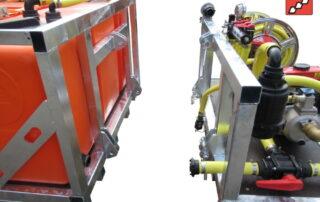 Mobile Bewässerung Tankeinheit und Gießeinheit
