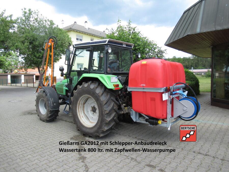 Mobile Bewässerung Gießarm GA2012