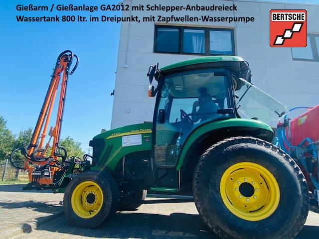 BERTSCHE Gießanlage GA 2012 mit Schlepper-Anbaudreieck