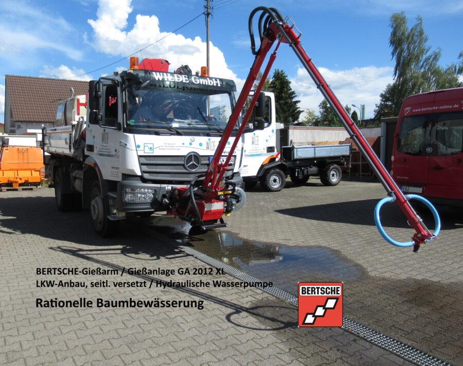 BERTSCHE Gießanlage GA2012XL LKW-Anbau