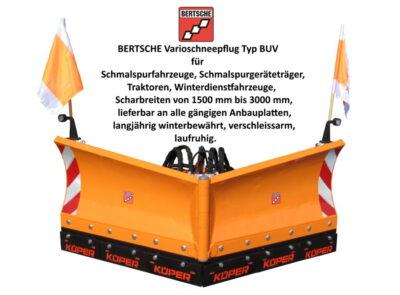 Vario Schneepflug Typ BUV Bertsche