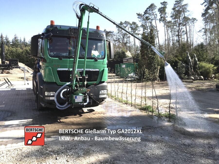 Gießanlage GA2012XL LKW-Anbau, Baumbewässerung